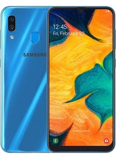 Samsung Samsung Galaxy A30 Beyaz Mavi